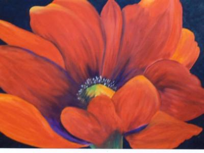 Nancy's Poppy - SOLD commission