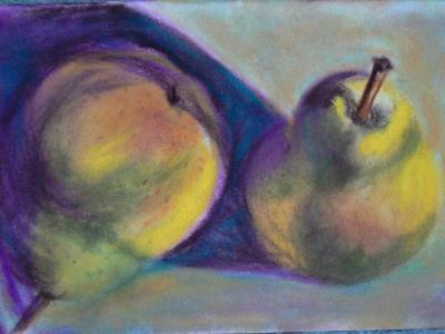 Pair of Pears - SOLD