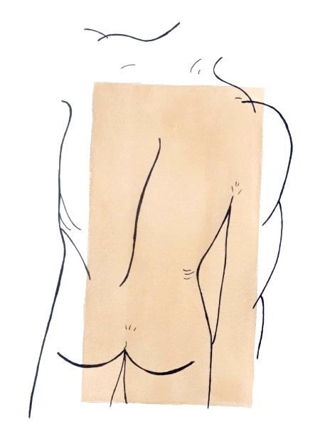 Male Backside