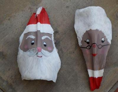 Santa and Mrs. Clause - SOLD