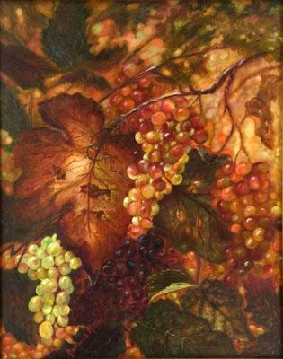 """Varietal Bounty"" - SOLD                           Giclees on canvas available"